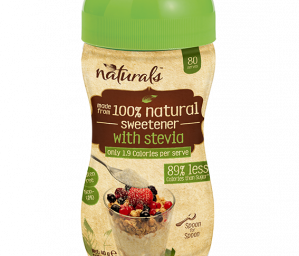 Naturals with Stevia Spoon-for-Spoon