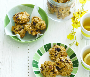 Cornflake, Pistachio and Cranberry Biscuits