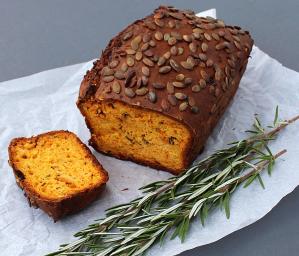 Roasted Pumpkin and Olive Oil Loaf